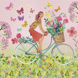 Mila Marquis - Fiets met bloemen