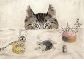 Tsugouharu Leonard Foujita - De kat van de kleermaker