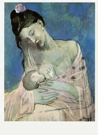 Pablo Picasso - Moeder en kind 1905