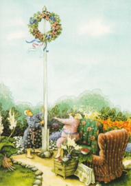 Inge Löök : Met bloemenkrans - NR 46