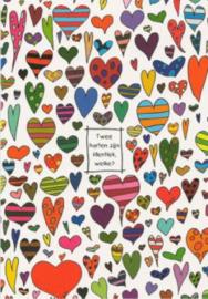 EDC - Lali : Twee harten zijn identiek, welke?