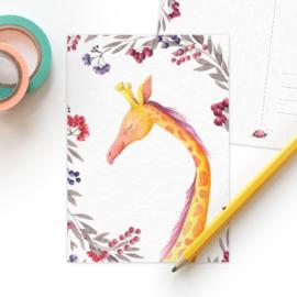 Studio Draak - 'Natuurlijke liefde' Giraffe