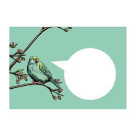 C6 Envelop  - Vogel (1x)