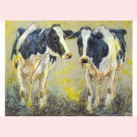 Loes Botman  - Twee koeien