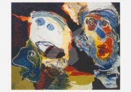 Karel Appel - Trois Têtes 1964
