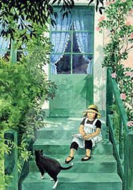 Lena Anderson -  Lennea in de tuin
