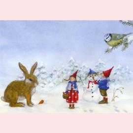 Daniela Drescher - Pippa en Pelle in de sneeuw