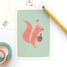 Studio Draak - 'Bosbeestjes'  Eekhoorn