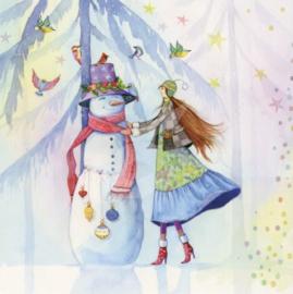Kristiana Heinemann - Sneeuwpop versieren