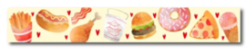 Only Happy Things - Washi tape Fastfood