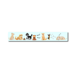 Only Happy Things - Washi tape Honden