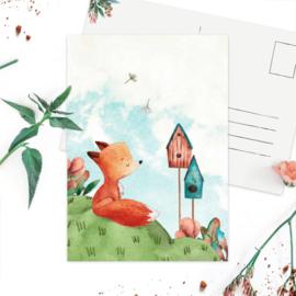 Studio Draak 'Fijn voorjaar' Vogelhuisje