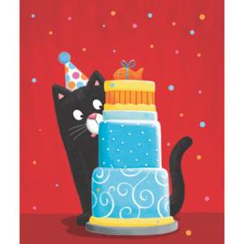 Aquarupella  - Kat met taart
