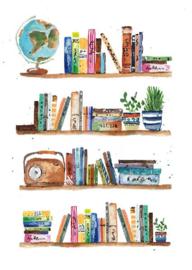 Louise Mulgrew - Boekenplanken