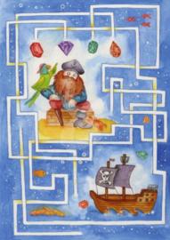 Inga Berkensträter - Labyrinth (Piraat)