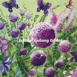 Sabina Comizzi - Zomerbloemen en vlinders