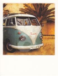 PolaCard - Hippie Bus