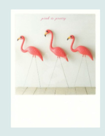 PolaCard - Pink is pretty (Flamingo)