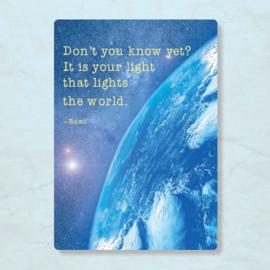 ZintenZ - It is your light that lights the world