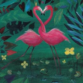 Mila Marquis - Twee Flamingo's