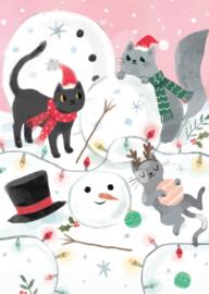 Advocate Art  - Sneeuwpop maken