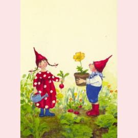 Daniela Drescher - Pippa en Pelle in de lentetuin