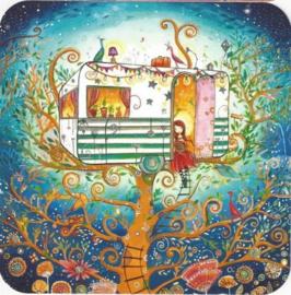 Editions des Correspondances : Caravan in the trees door Jehanne Weyman