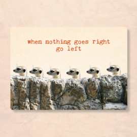 ZintenZ - When nothing goes right go left