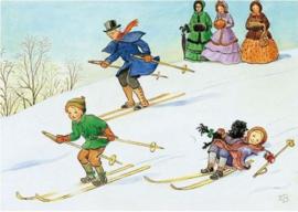 Elsa Beskow - Ski pret
