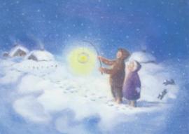 Monika Speck - Avond in de sneeuw