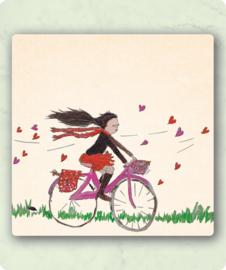 Happy H-Art - Op de fiets