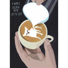 Inkognito  - Latte art