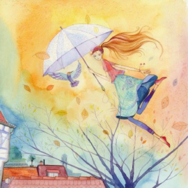 Kristiana Heinemann - Vliegen met paraplu