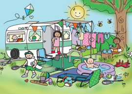 Wendy de Boer - Camping