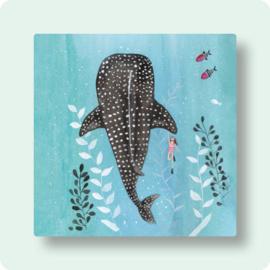 Tina van Dijk Art - Zwemmen