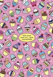 Lali - Vind jouw taart en.... Fijne verjaardag!