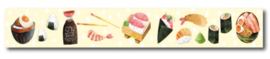 Only Happy Things - Washi tape Sushi
