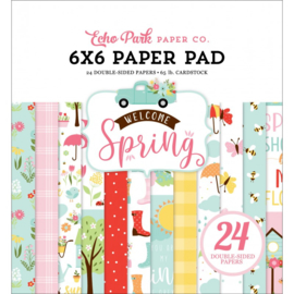 Echo Park Welcome Spring 6x6 Inch Paper Pad