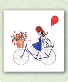 IsaBella Illustrations - Fiets