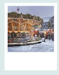 PolaCard - Kerst draaimolen
