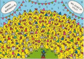 EDC - Lali : Wie zingt er vals ?