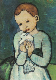 Pablo Picasso - Kind met duif 1901