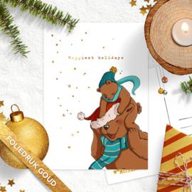 Studio Draak - 'Beregezellige kerst'  Muts