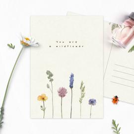 Studio Draak - 'Wildflowers'  You are a wildflower