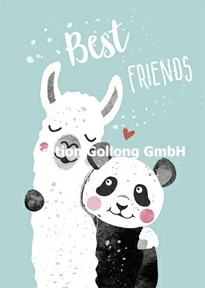 Katrin Lorenz - Best Friends (Lama & Panda)