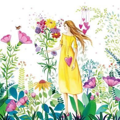 Kristiana Heineman - In bloemenweide