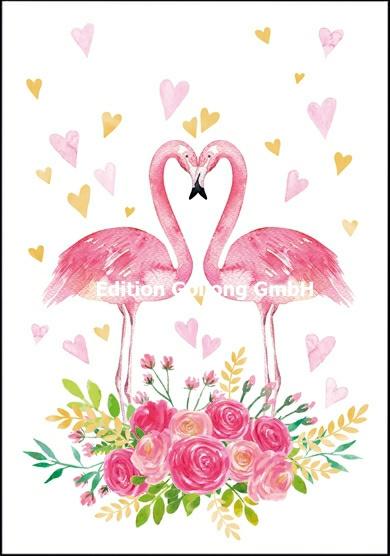 Adobe Stock - 2 Flamingo's