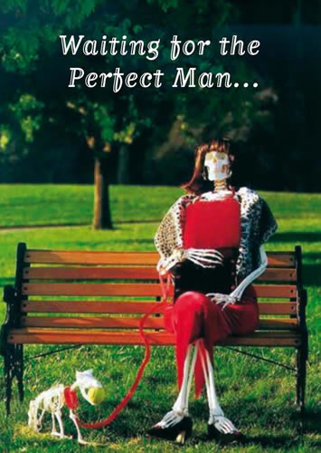 Art Image - Waiting for the perfect man