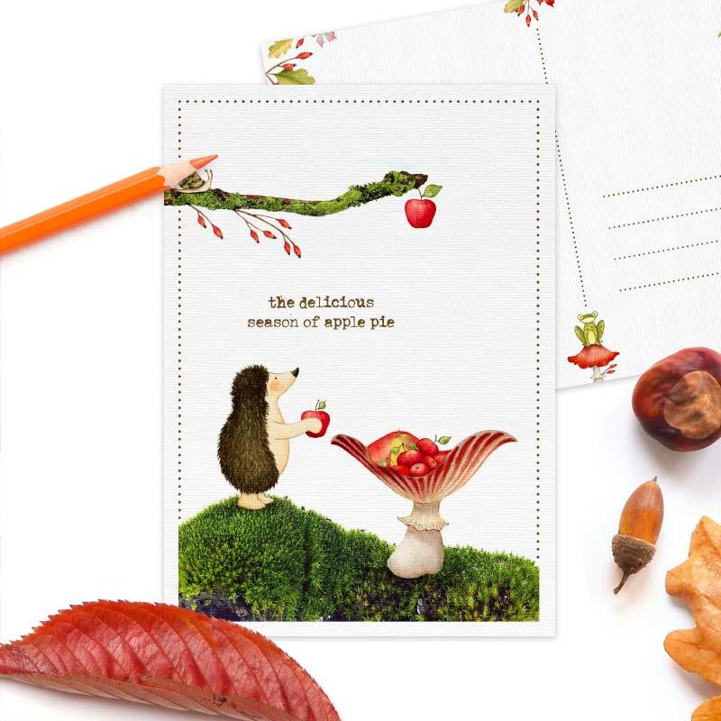 Studio Draak - 'Enthousiaste egels' Appels
