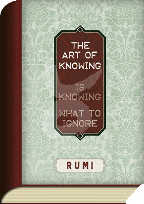 BookCard - Knowing Rumi